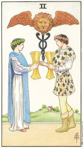 2 of Cups Tarot Card